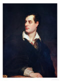 Portrait of Lord Byron Premium Giclee Print by Thomas Phillips