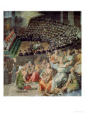 The Council of Trent, 1588-89 Giclee Print by Pasquale Cati