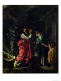 Ceres and Stellio Giclee Print by Adam Elsheimer