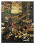 The Entrance of the Animals into the Ark Giclee Print by Jacopo Bassano