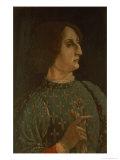 Portrait of Galeazzo Mario Sforza circa 1471 Giclee Print by Piero Del Pollaiolo