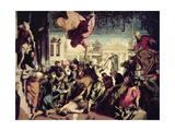 St. Mark Rescuing a Slave Giclée-Druck von Jacopo Robusti Tintoretto