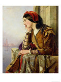 Woman in Love, 1856 Giclee Print by Henry Nelson O'Neil