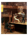 Between Rounds Reproduction procédé giclée par Thomas Cowperthwait Eakins