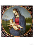 The Madonna Conestabile, 1502/03 Giclee Print by Raphael
