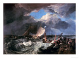 Calais Pier: an English Packet Arriving, circa 1802 Giclee Print by William Turner