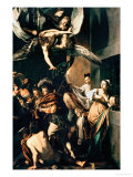 The Seven Works of Mercy, 1607 Reproduction proc&#233;d&#233; gicl&#233;e par Caravaggio 