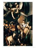 The Seven Works of Mercy, 1607 Giclée-Druck von  Caravaggio