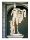 The Apollo Belvedere, Roman Copy, Probably of a Greek Original 4th Century BC Giclee Print