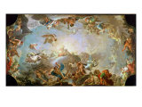 The Fall of the Giants Besieging Olympus, 1764 Giclee Print by Francisco Bayeu Y Subias