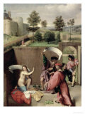 Susanna and the Elders, 1517 Giclee Print by Lorenzo Lotto