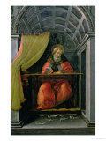 St.Augustine in His Cell Giclee Print by Sandro Botticelli