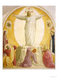 The Transfiguration, 1442 Reproduction procédé giclée par Fra Angelico
