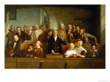 Village Choir Giclee Print by Thomas Webster