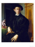 Portrait of a Young Man Giclee Print by Agnolo Bronzino