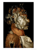 Earth, circa 1570 Gicl&#233;e-Druck von Giuseppe Arcimboldo