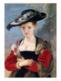 Portrait of Susanna Lunden circa 1622-25 Giclee Print by Peter Paul Rubens