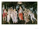 Sandro Botticelli - Primavera, circa 1478 - Giclee Baskı
