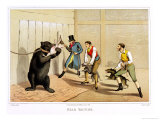 Bear Baiting, Published by Thomas Mclean, 1820 Giclee Print by Henry Thomas Alken