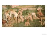 Bath of Psyche, 1520-23 Giclee Print by Bernardino Luini