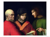 The Three Ages of Man, circa 1500-01 Giclee Print by  Giorgione