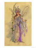 "Titania, Queen of the Fairies. Costume Design for ""A Midsummer Night's Dream"" Giclee Print by C. Wilhelm"