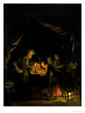 The School Master Giclee Print by Gerrit or Gerard Dou