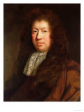 Portrait of Samuel Pepys Giclee Print by John Riley