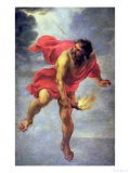 Prometheus Carrying Fire Premium Giclee Print by Jan Cossiers