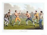 A Prize Fight, Aquatinted by I. Clark, Published by Thomas Mclean, 1820 Giclee Print by Henry Thomas Alken