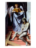 Christ and the Angel, circa 1550-54 Giclee Print by Alessandro Bonvicino Moretto