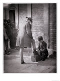 The Independent Shoe Black Giclee Print by John Thomson