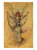 "The Bindweed Fairy, Costume for ""A Midsummer Night's Dream"" Giclee Print by C. Wilhelm"