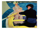 The Boating Party, 1893-94 Reproduction proc&#233;d&#233; gicl&#233;e par Mary Cassatt