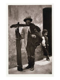 The Temperance Sweep, Woodbury Type Photograph Giclee Print by John Thomson