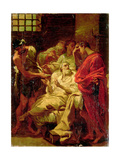 The Death of Socrates Giclee Print by Gaetano Previati