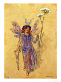 "A Fairy, Costume Design for ""A Midsummer Night's Dream"" Giclee Print by C. Wilhelm"