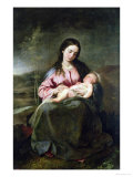The Virgin and Child Giclee Print by Alonso Cano