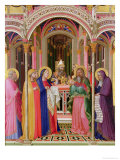 The Presentation in the Temple, 1342 Reproduction procédé giclée par Ambrogio Lorenzetti