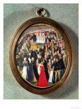 An Elizabethan Maundy Ceremony, circa 1560 Giclee Print by Lievine Teerlink