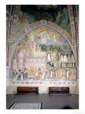 The Church Militant and Triumphant, in the Spanish Chapel, circa 1369 Giclée-tryk af Andrea di Bonaiuto