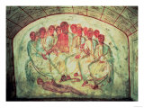 A Philosopher, Possibly Aristotle, with His Disciples, 4th Century, Giclee Print