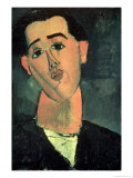 Portrait of Juan Gris, 1915 Giclee Print by Amedeo Modigliani