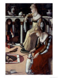 Two Venetian Ladies Giclee Print by Vittore Carpaccio