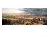 Battle of Waterloo, 1815, 1843 Reproduction procédé giclée par Sir William Allan