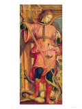 St. Michael Giclee Print by Bernadino Zenale