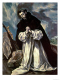 St. Dominic Giclee Print by  El Greco