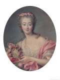 Madame Du Barry, 1770 Giclee Print by Francois Hubert Drouais