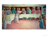 The Last Supper, 1442 Giclee Print by Fra Angelico 