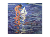 The Young Yachtsman, 1909 Giclee Print by Joaqu&#237;n Sorolla y Bastida